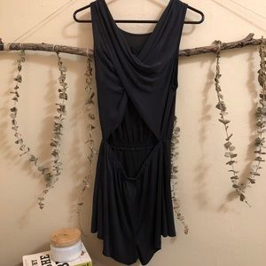 SILENCE + NOISE ROMPER WITH CUT OUT BACK